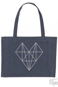 Eerlijke heart bag tas